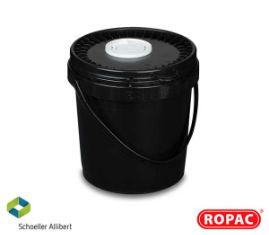5 Litre UN Liquid Black with Black Flex-Spout Lid