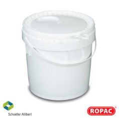 10 Litre UN Liquid White with White Lid