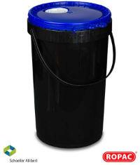 20 Litre UN Liquid Black with Blue - Flex-Spout Lid