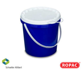 5 Litre UN Solid - Blue with White Lid