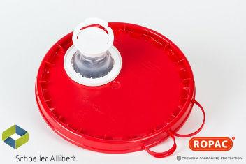 3-6 Litre Red Flex-Spout Lid