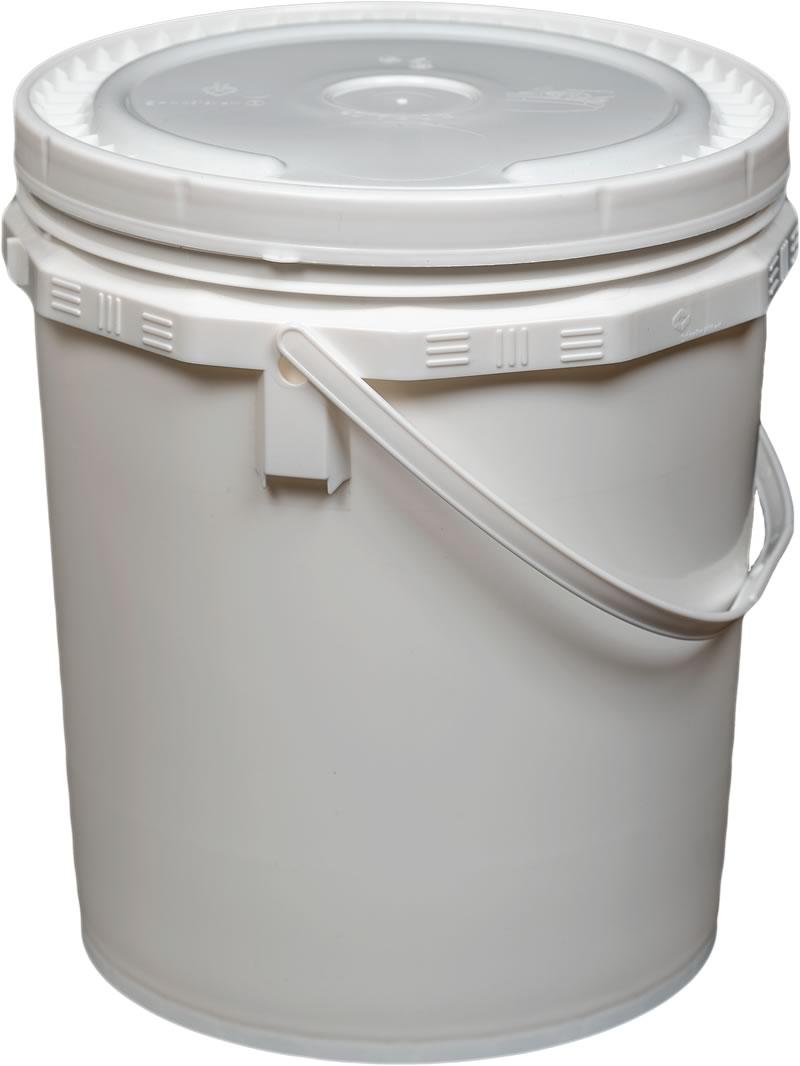Notre seau de 20 litres fait peau neuve
