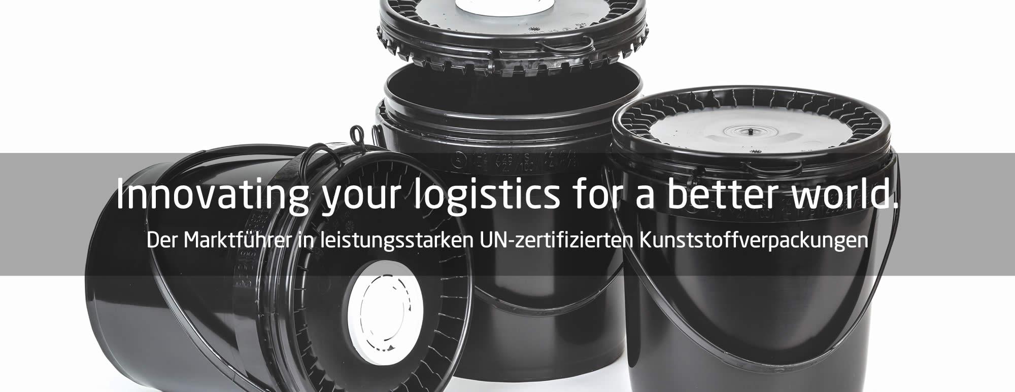 ROPAC® - Der Marktführer in leistungsstarken UN-zertifizierten Kunststoffverpackungenn